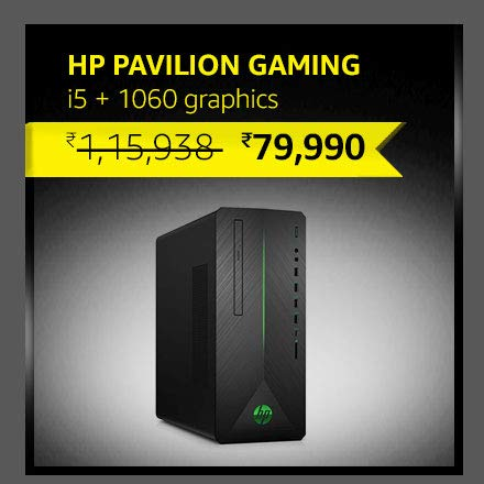 HP Pavilion Gaming i5+1060 graphics