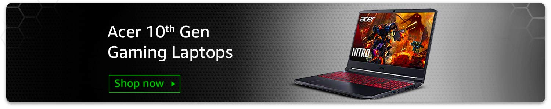 Acer 10th Gen Gaming Laptops