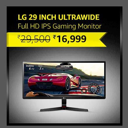 LG 29 inch Ultrawide Full HD IPS Gaming Monitor