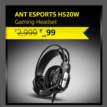 Ant Esports  Headset| PC / PS4 / Xbox One/Nintendo and Mobile