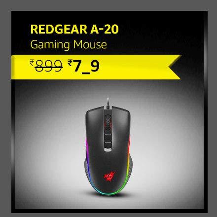 Redgear A-20 Gaming Mouse| RGB |  4800 dpi | PC