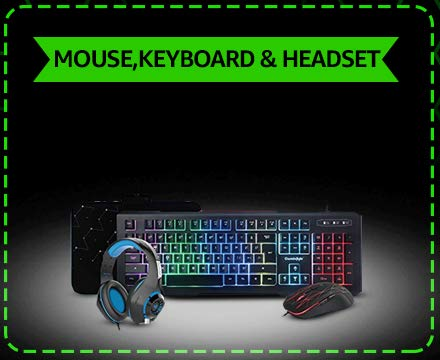 Mouse, Keyboard and Headset