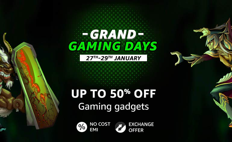 Amazon- Grand Gaming Days - Up to 50% OFF