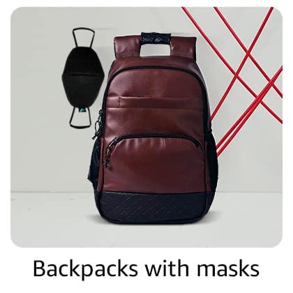 Backpacks with masks