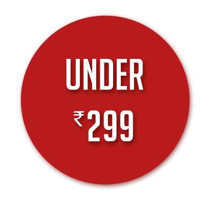 Under ₹299