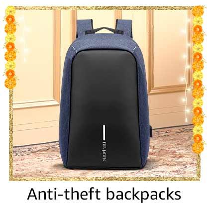Anti-theft backpacks