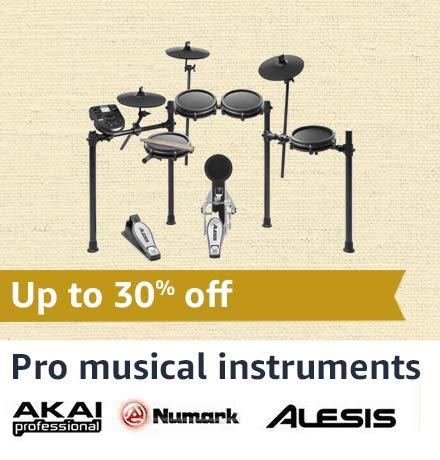 Akai, Alesis & Numark Pro Musical Instruments