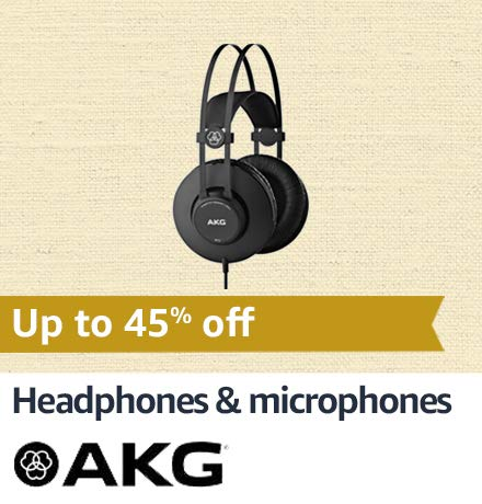 AKG Headphones & Microphones