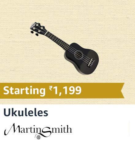 Martin Smith Ukuleles