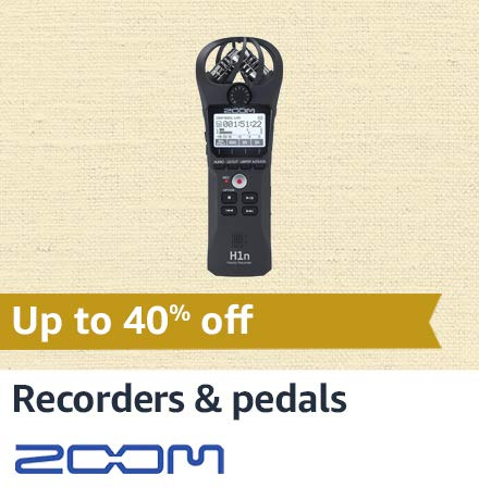 Zoom Recorders & Pedals