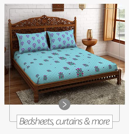 Bedsheet, curtains & more
