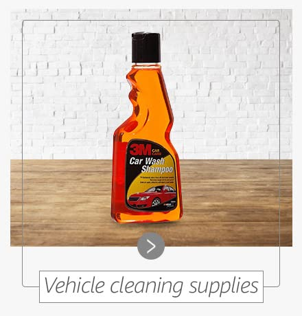 Vehicle cleaning supplies