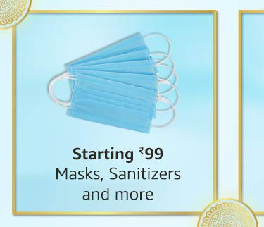mask, sanitizers & more