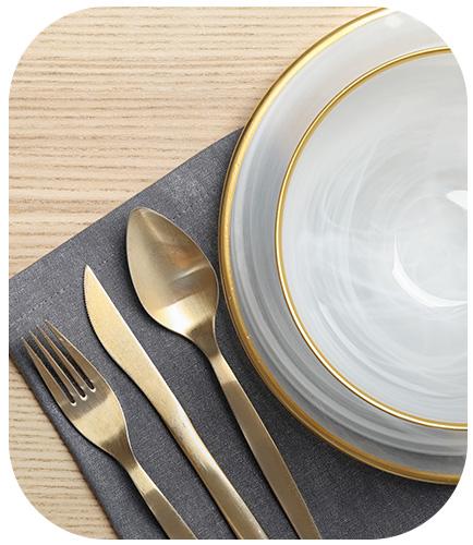 Dinnerware and serveware