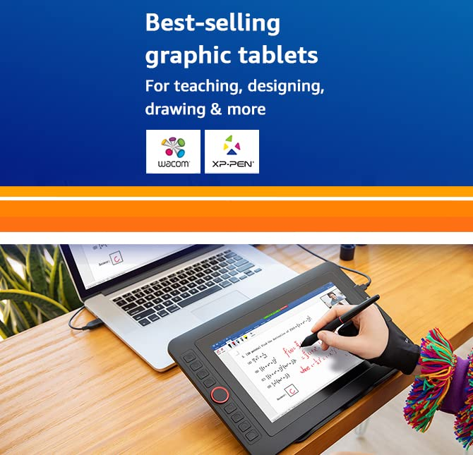 Bestselling graphic tablets