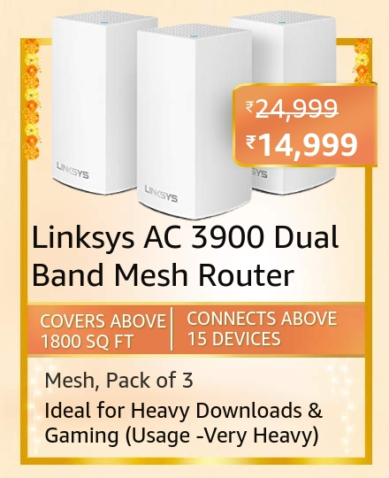 Linksys AC 3900 Dual Band Mesh Router