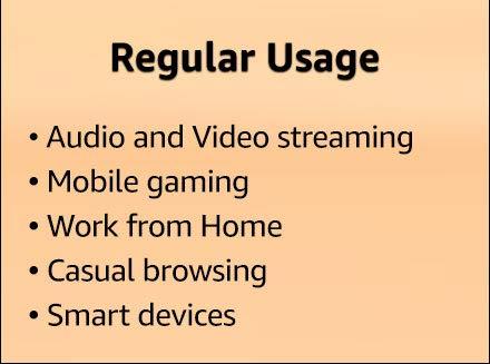 Regular usage