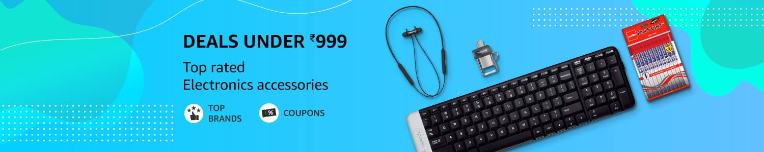 Deals under 999 | Top Rated Electronics & Accessories