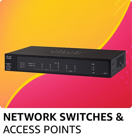 Network switches & access points