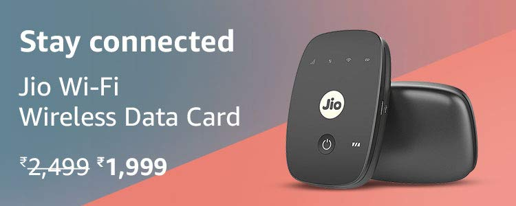 Jio Wifi data card