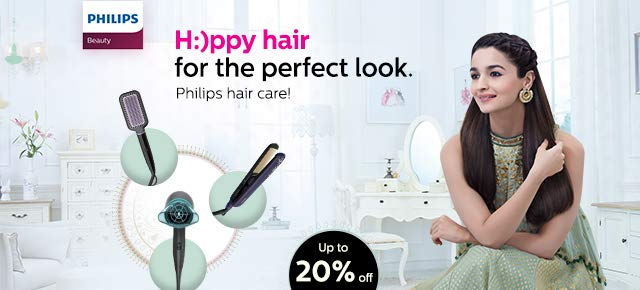 Philips hair brush