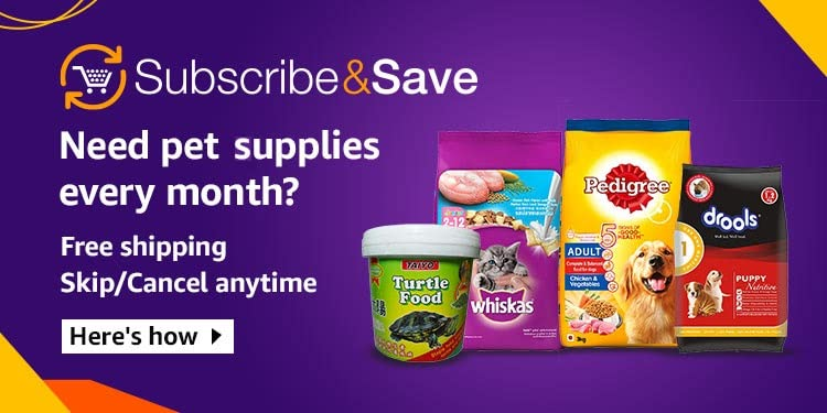 Pets subscribe & save