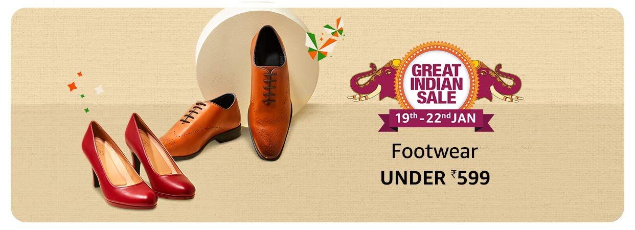 GREAT INDIAN SALE | Buy Shoes Under Rs.599 Only