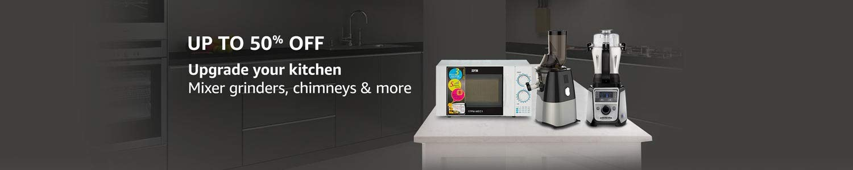 Up to 50% off on Amazon Kitchen Appliances
