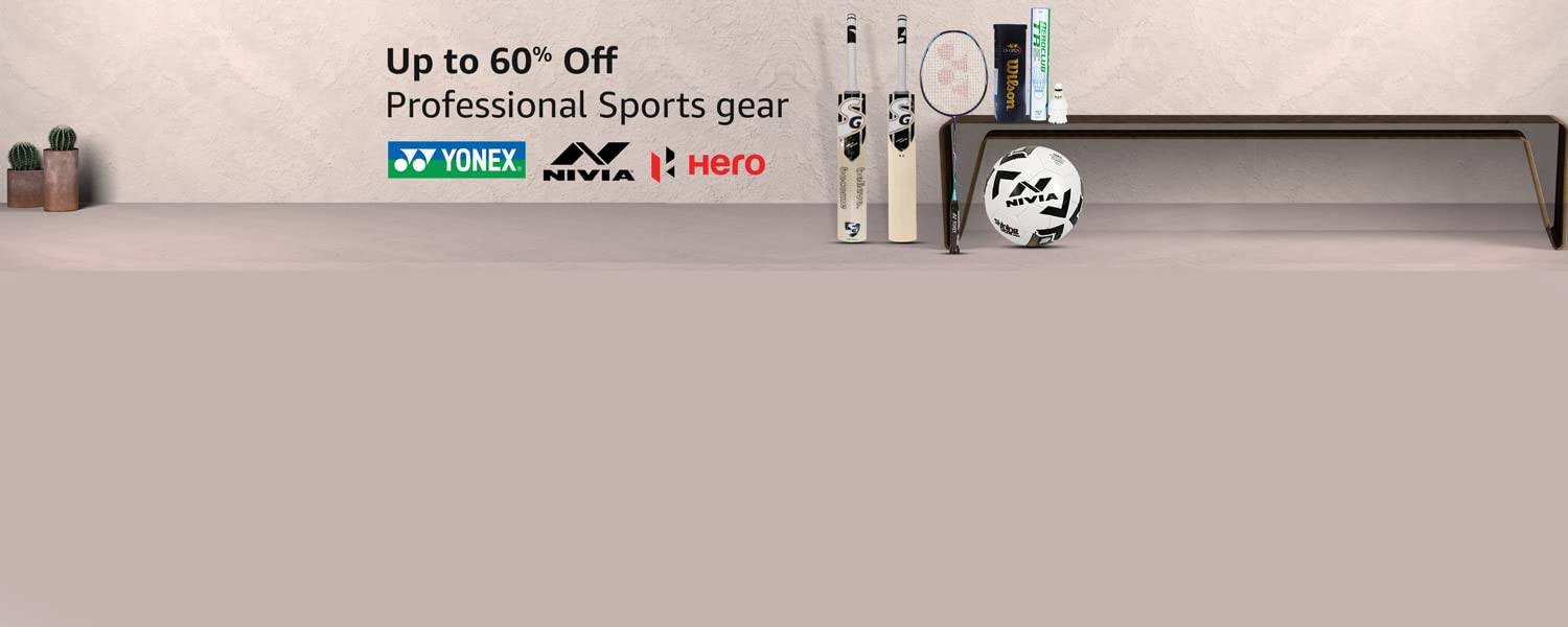 Amazon Offers Today-Coupons-Promo Codes - Get Upto 60% Off on Professional Sports Gear