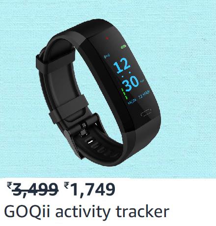 GOQii activity tracker