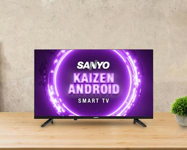 Sanyo Kaizen series TVs   Starting ₹10,999