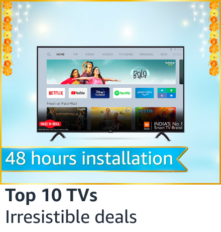 Top 10 Televisions