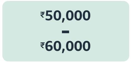 40,000 to 50,000