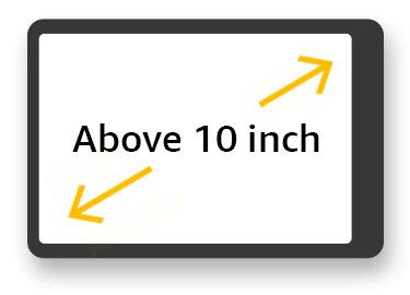 Above 10 inch