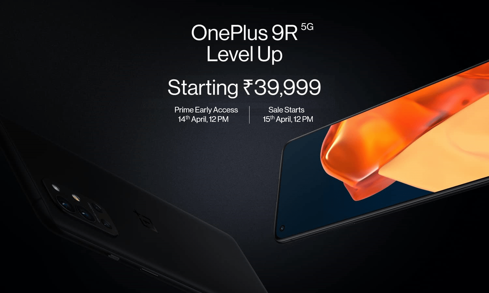 OnePlus 9R 5G Starting @