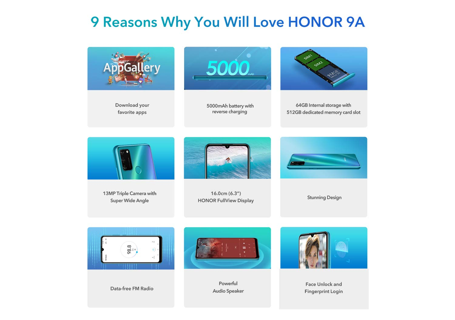 Honor 9A Price in India 9 Reasons Why You will Love HONOR 9A