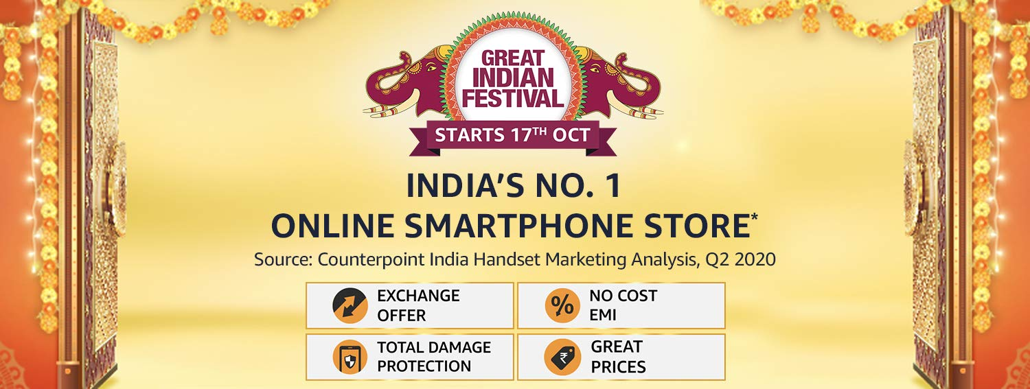 Great Indian festival smartphone offers