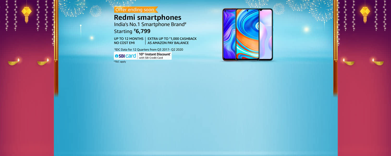 amazon.in - Redmi Smartphones starting at just ₹6799
