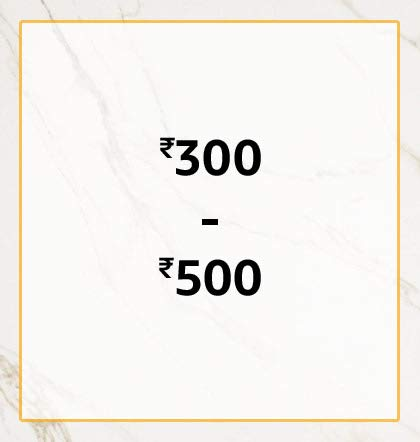 300 to 500
