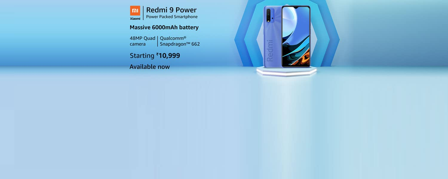 Amazon Offers Today-Coupons-Promo Codes - Redmi 9 Power SmartPhone starting at just ₹10999
