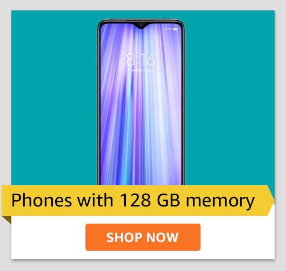 128GB storage