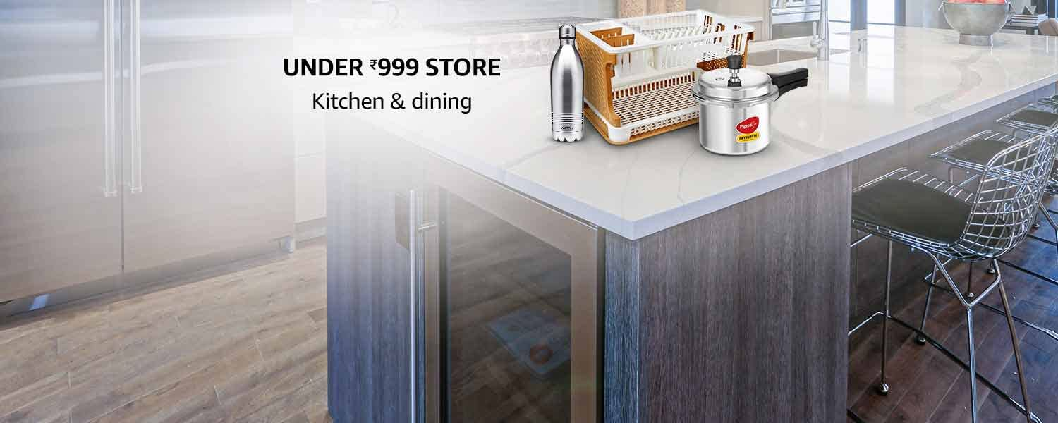 amazon.in - Kitchen and Dining under ₹999