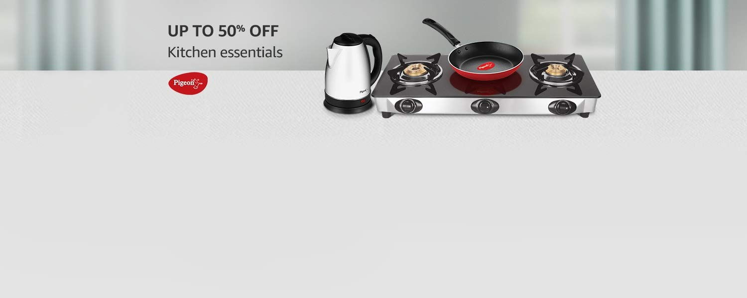 Amazon Latest Offers & Discount Codes - Get Up To 50% off on Kitchen Essentials