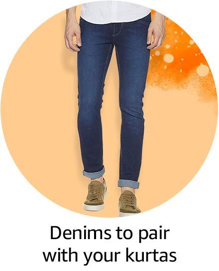 denims to pair with your kurtas