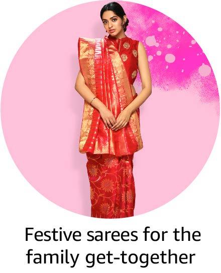 Festive saree