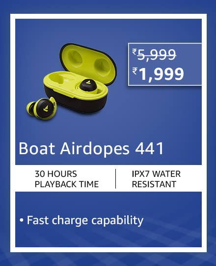 Boat Airdopes 441 Lime