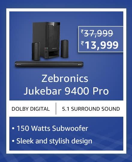 Zebronics Jukebar 9400 Pro