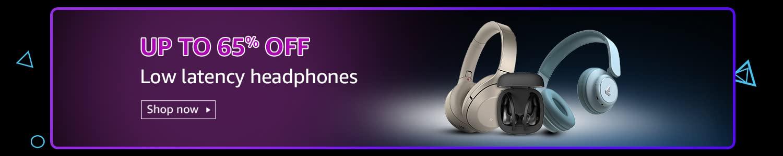 Low latency headphones