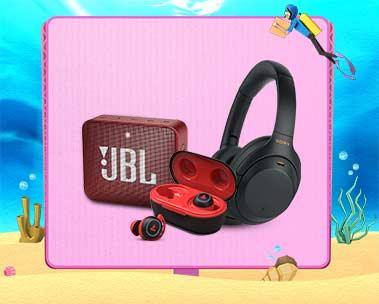 Up to 70% off | Headphones & speakers