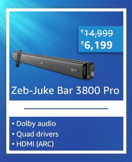 ZEBRONICS Zeb-Juke Bar 3800 Pro